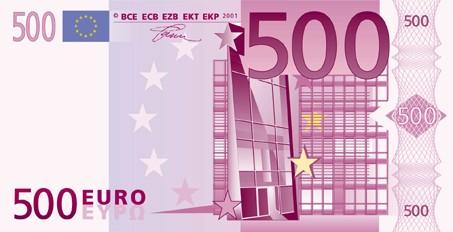 500 euro schein. Black Bedroom Furniture Sets. Home Design Ideas